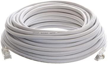 Ethernet Network 50 Feet CAT5, CAT5e, RJ45 Cable, White