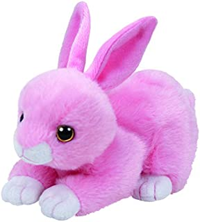Ty Walker Pink Bunny Plush, Light Pink, Regular