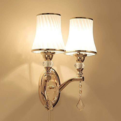 YANQING Moderno Creativa Retro/Retro/lámpara de Pared de la Novedad y la lámpara de Pared Restaurante/Interior/café de la Tienda de Metales/lámpara de Pared de iluminar su Vida