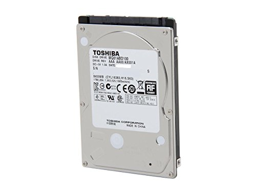Toshiba MQ01ABD 1 TB 2.5 Internal Hard Drive MQ01ABD100 SATA 5400RPM 1 Year Warranty (Renewed)