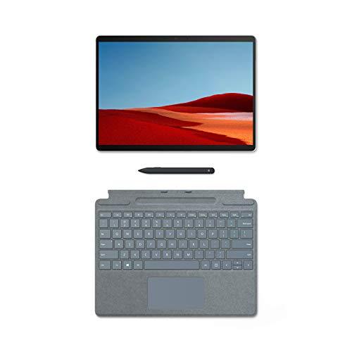 pequeño y compacto Microsoft Surface Pro X – Laptop 2 en 1 de 13 pulgadas – 16 GB de RAM, 256 GB Platinum SSD +…