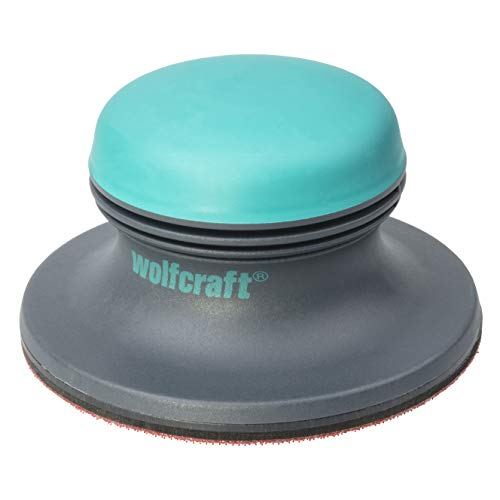 Wolfcraft 5894000 - Lijadora de superficies 2K con sistema de lijado adhesivo Ø 125 mm