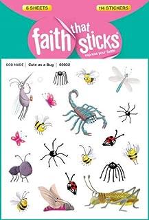 Cute As a Bug (Faith That Sticks Stickers)