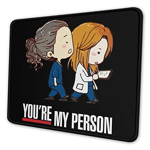 YTDSFZSMYXG Greys Anatomy Computer Mouse pad Game Mouse pad for Office and Home 7.9 x 9.5 in