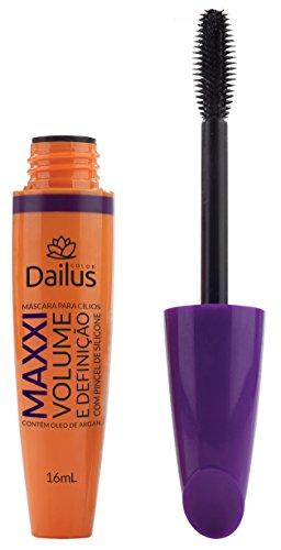 Mascara para Cílios 03 Maxxi Volume e Definição, Dailus, Preto