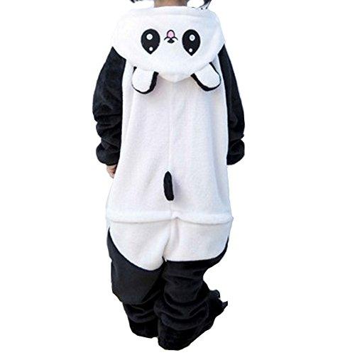 Pyjama Cosplay Karnevals Kostüme für Erwachsene Halloween Fest Party Tier Onesie Body Nachtwäsche Kleid Overall Animal Sleepwear Erwachsene Kigurumi Zoo Cosplay - Small - Panda 2