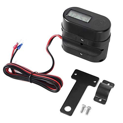 Cargador impermeable para motocicleta, enchufe doble para motocicleta, cargador USB impermeable, voltímetro, accesorio para interruptor de reloj digital