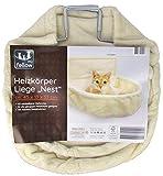 my fellow - Heizkörper Liege/Nest für Katzen - Katzennest für Heizung (Creme)