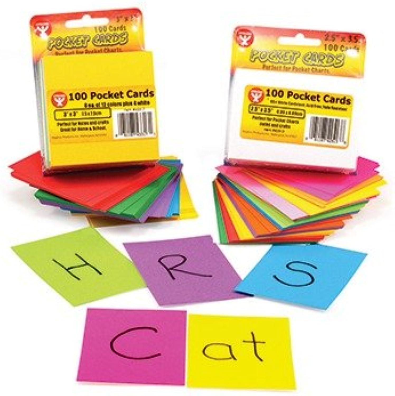 Hygloss Hygloss Hygloss Produkte HYG43323 Regenbogen Brights Pocket-Karten Wei--2 X 2 B002A2JI7M | Großer Verkauf  0a80e0