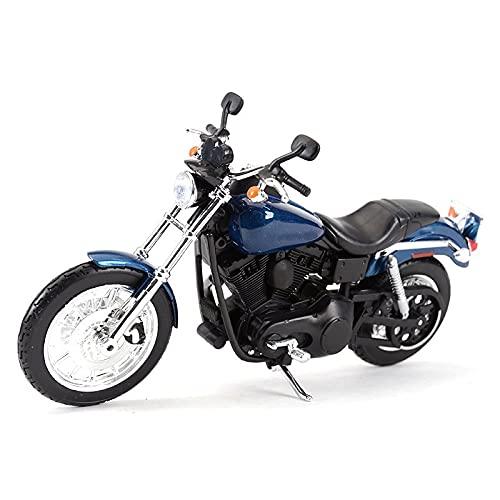 Modelo de juguete de motocicleta 1:12 para Sportster Iron 883 2014 para Dyna Street Glide para Road King para CVO Breakout Electra Glide Diecast aleación modelo de motocicleta de juguete Modelo de mot