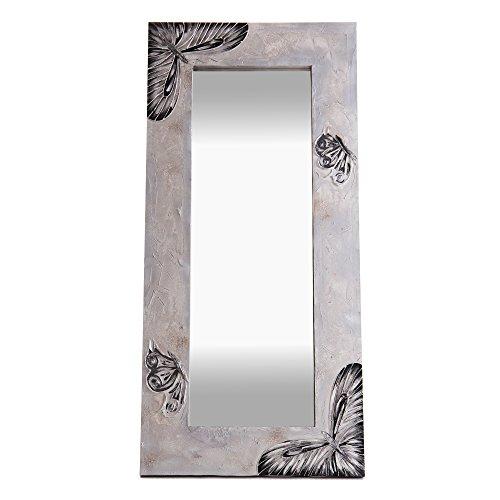 Lohoart L-1043-P1 - Espejo Sobre Lienzo Pintado Artesanal