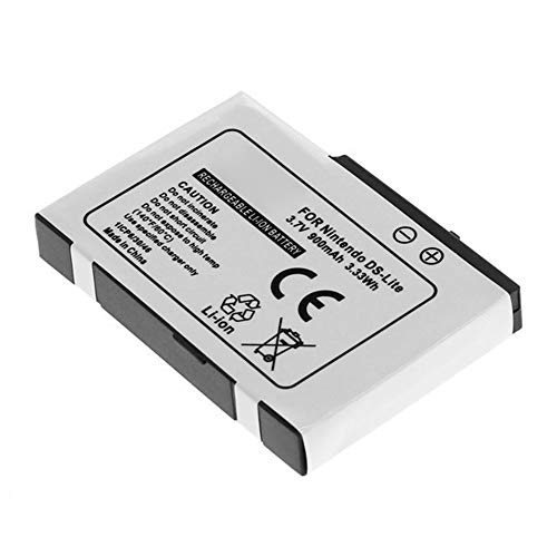 subtel® Qualitäts Akku kompatibel mit Nintendo DS/DS Lite, USG-001,USG-003 900mAh Ersatzakku Batterie