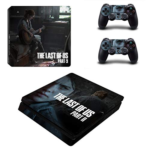 46 North Design Playstation 4 PS4 Slim Folie Skin Sticker Konsole L.O.U.S aus Vinyl-Folie Aufkleber Und 2 x Controller folie