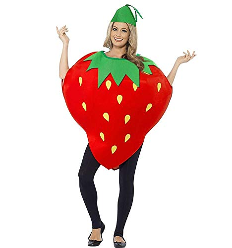 La moriposa Unisex Kids Halloween Pumpkin Strawberry Moon Costume Dress Set Fruits Costume Suit with Hat