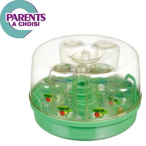 Stérilisateur vapeur pour micro-ondes sans Bisphénol A Bio Babby