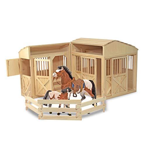 Melissa & Doug Folding Horse Stable