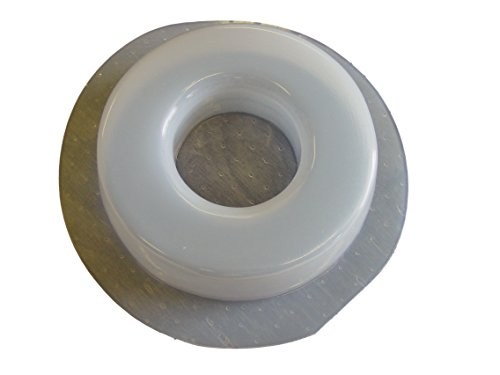 Mold for Concrete to Make/Pour Your own Sprinkler Head Guard Protectors Donut 3 inch Hole 7146