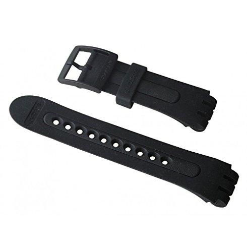 Correa Caucho Negra Reloj Swatch Fun Scuba ASUGB001 21mm