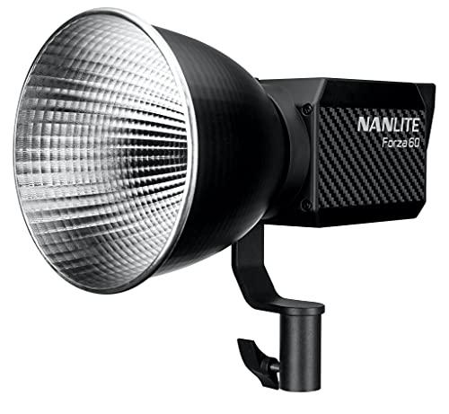 【国内正規品】NANLITE Forza 60 撮影用ライト スタジオライト スポットライト LEDライト 動画撮影 ポートレート ライブ配信 5600K CRI98 12ヶ月保証 日本語マニュアル