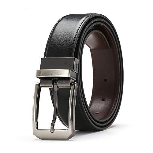 Aceshop Cinturón de Cuero para Hombre de 1.3