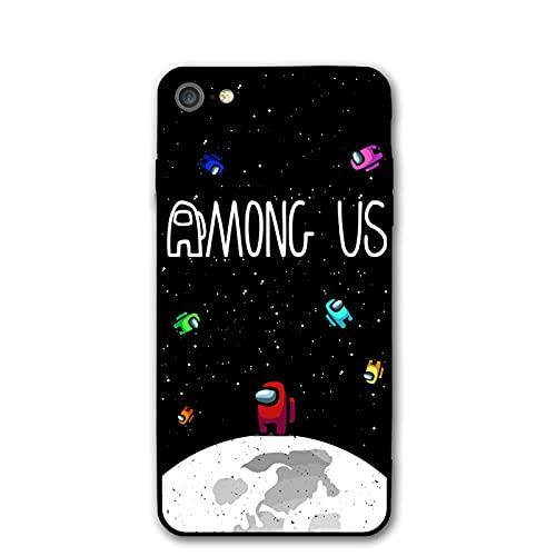 Among Us - Carcasa para iPhone 7/8, color negro