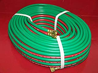 1/4 ID 100 FT OXYGEN AND ACETYLENE TWIN WELDING HOSE VICTOR & HARRIS COMPATIBLE
