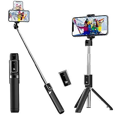 Stick Tripod Extendable Selfie Stick with Detachable Wireless 25022021122506