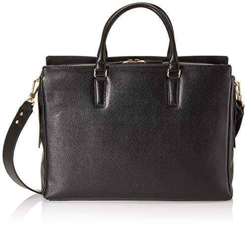 BREE Damen Chicago 5, Black, Workbag Business Tasche Schwarz (Black)