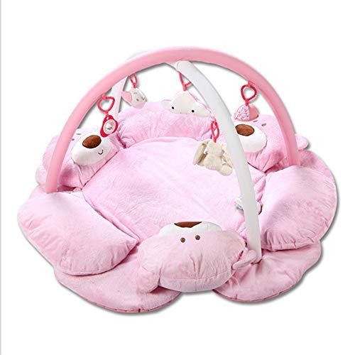 Tapis de Jeu pour bébé Three Bears Tapis de Jeu pour bébé Tapis de Jeu pour Tapis de Jeu,Pink