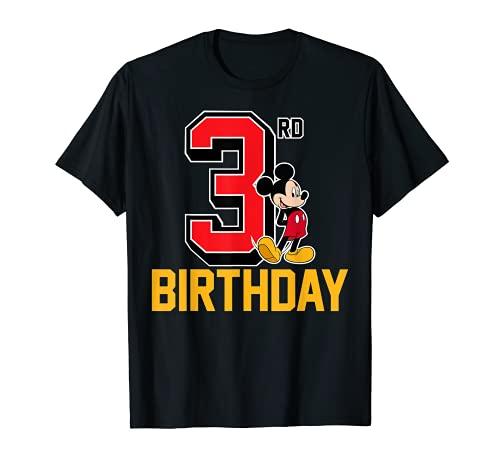 Disney Mickey Mouse My 3rd Birthday T-Shirt