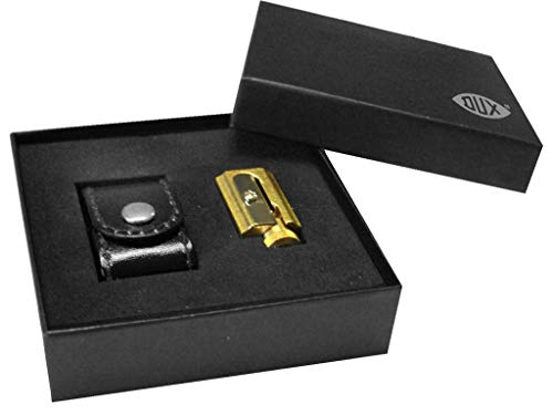 DUX Sharpener Made of Brass Adjustable with case DX4322-01, with Gift...