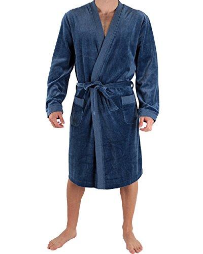 Punto Blanco - Robe de Chambre Longue Batin Destiny - (Bleu/L)