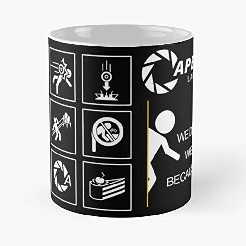 Tablet Portal Video Game Case Nerd 2 Cover Eat Food Bite John Best 11 Ounce Ceramic Coffee Mug