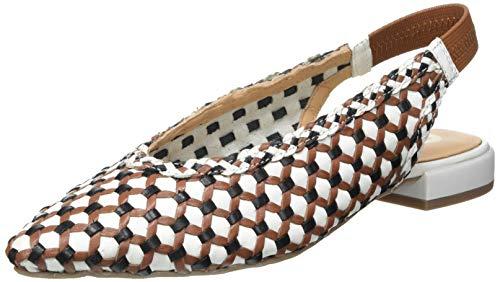 Gioseppo Finley, Zapatos Tipo Ballet Mujer, Blanco, 38 EU