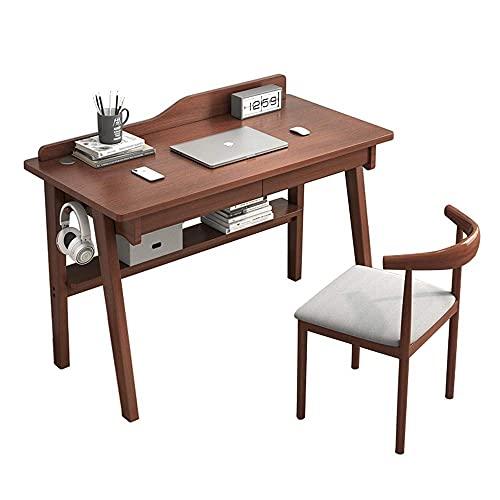 Renovation House Juego de mesa y silla para niños Inicio Mesa de estudio simple para niños y silla con deflector de escritorio + cajón + estante inferior + gancho lateral Cómodo juego de escritorio y
