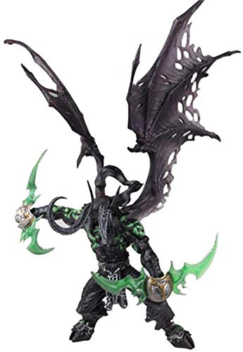 World of Warcraft Illidan Stormrage Figur Statue Modell Spielzeug for Home Car Decoration Collection