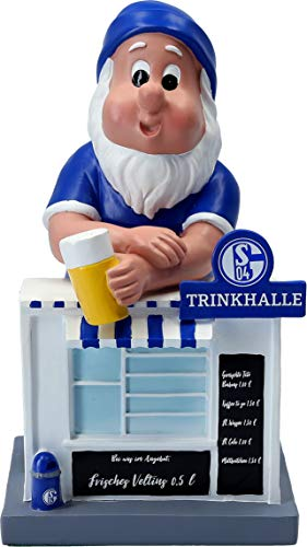 FC Schalke 04 Gartenzwerg Trinkhalle