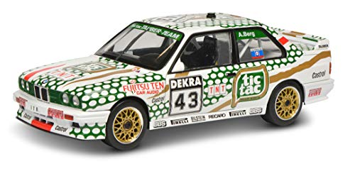 Solido S1801505 BMW E30 M3#43, DTM 1991, Fahrer: A.Berg, Modellauto, 1:18