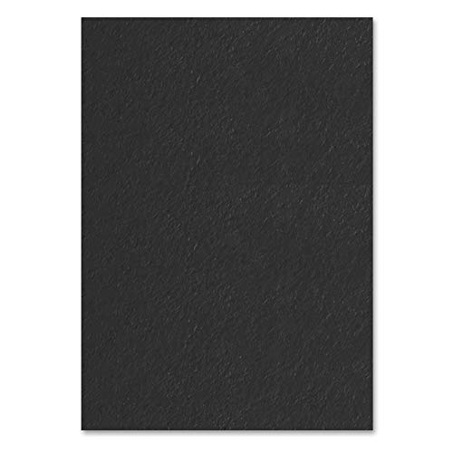 Schwarz, A4 120 g/m² Farbige Papier, 100 Blatt