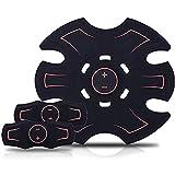 LQRYJDZ Abs Trainer Cojines del Gel Accesorios, cinturón de tonificación Abdominal-Entrenamiento de la Gimnasia Máquina y Home Fitness Aparatos for Hombres Mujeres