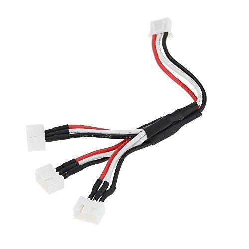 Yunique Espana 98-1ASZ-C983 3 en 1 Cargador Rápido Cables Convertidor 7.4V X8C, X8W, X8G, MJX X101, X600