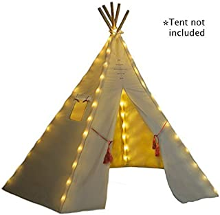 Nature's Blossom Fairy Lights for Kids Teepee Tents, Battery Operated. Set of 5 LED..