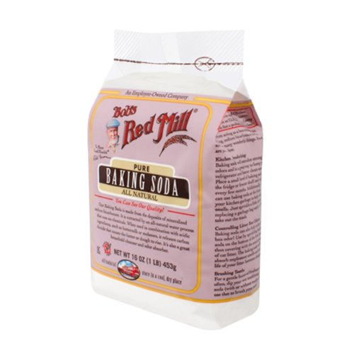 Bob's Red Mill Gluten Free Baking Soda 450 g (Pack of 4)