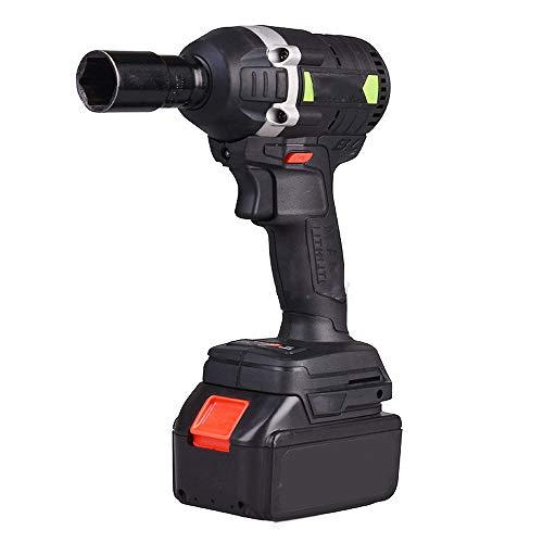 Avvitatore ad impulsi a batteria 288VF con 22 manicotti, avvitatore elettrico con coppia 630Nm 3000 giri/min Interruttore batteria 3 in 1 per marcia avanti/blocco/marcia indietro
