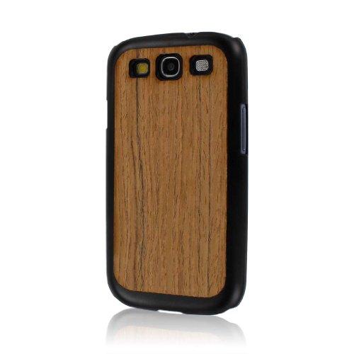 Empire Mpero Serie Embark - Custodia in Legno Riciclato per Samsung Galaxy S3, Motivo: Teak