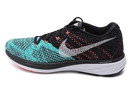 Tênis Nike FlyKnit Lunar3 Running Jade (39)