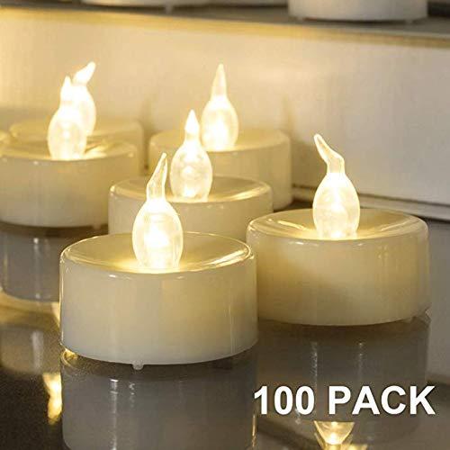 Homemory, 24 lumini a batteria, diametro 1,4 cm x altezza 1,3 cm