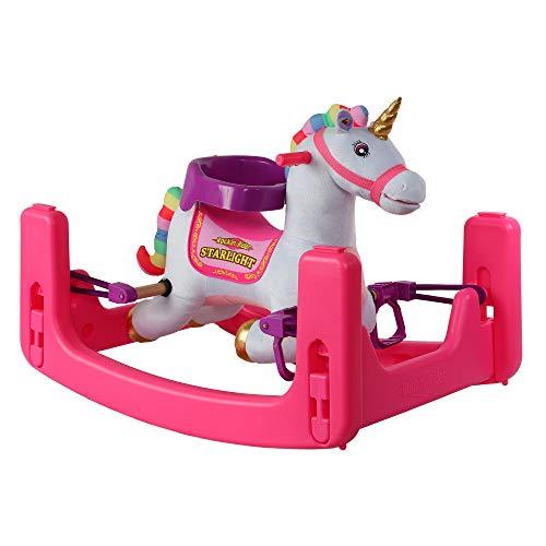 Rockin Rider Starlight Grow-with-Me Unicorn