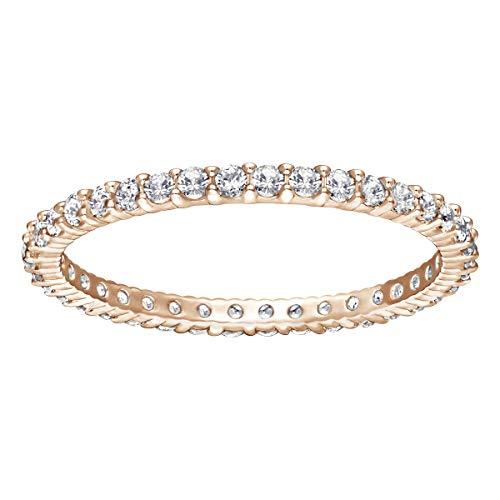 Swarovski Damen-Ringe Edelstahl Kristall '- Ringgröße 55 5083129