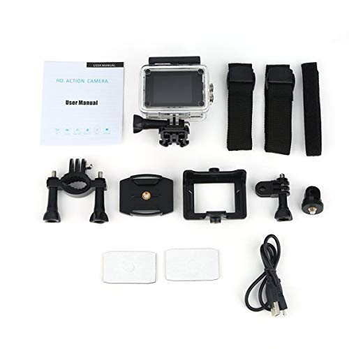 Heaviesk SJ5000 Action Kamera Sport Cam Full HD 1080P 30m Wasserdicht 2,0 Zoll LCD Bildschirm Mini Sport DV Camcorder mit Cam Zubehör